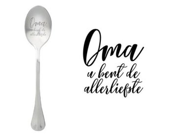 One Message Spoon- Oma
