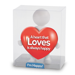 A heart that loves is always happy