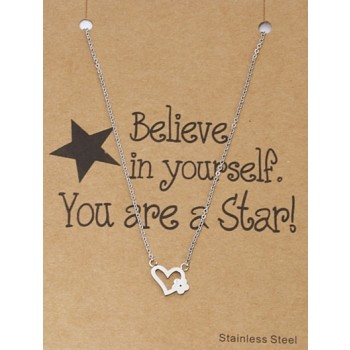 Ketting op giftcard You`re a Star