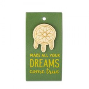 Houten Broche Dreams