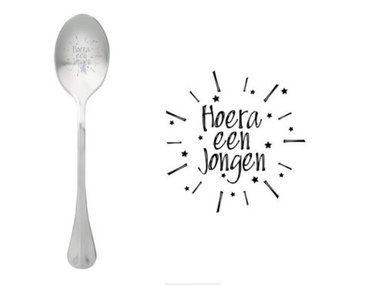 One Message Spoon-Hoera een Jongen
