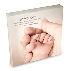 Canvas Art-Een wonder