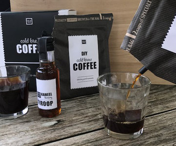 Cold Brew Coffee Gift Set incl 2 glazen