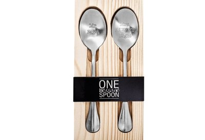One Spoon Message- Mr Right & Mrs Always Right