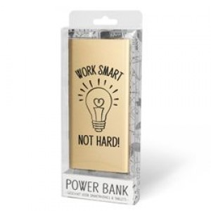 Powerbank Work Smart not Hard