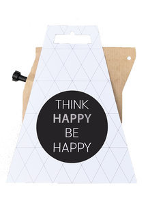 Coffee Giftcard Think Happy Be Happy