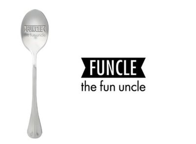 One Message Spoon- Funcle
