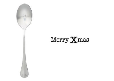 One Message Spoon Merry Christmas