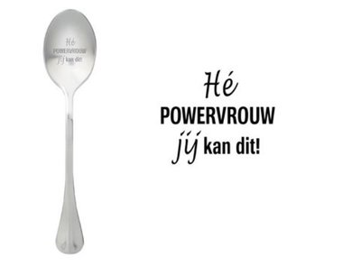 One Message Spoon-Powervrouw